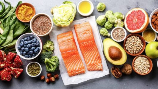 Alimentação saudável em casa