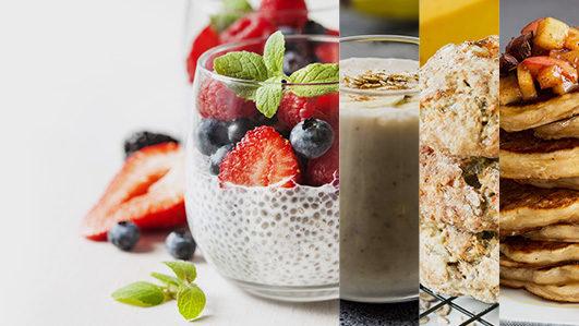 Receitas saudáveis com 3 ingredientes