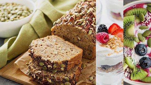 Ideias para pequeno-almoço saudável