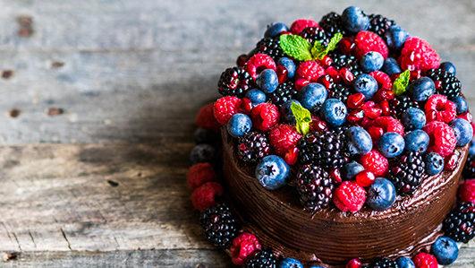 Receita: bolo de chocolate saudável