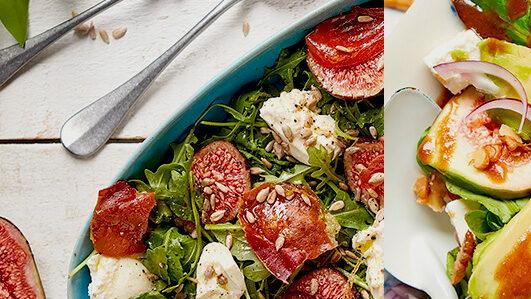 Saladas de figos