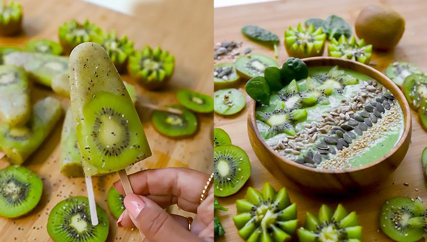 Receitas com kiwi de Joana Vaz