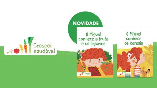 Crescer Saudável: livro infantil