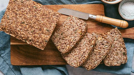 Receita de pão de aveia